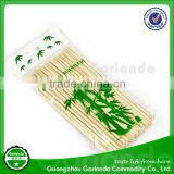Natural round bamboo skewers/bamboo skewer in bag/ bamboo bbq skewer in bulk