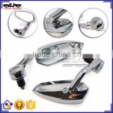 BJ-RM400-01 Motorcycle Body Kits Billet Aluminum Chrome Motorcycle Mirror for Kawasaki Ninja 250 300