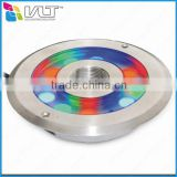 VLT New product led fountain light IP68 27watt RGB 3in1 led fountain ring light