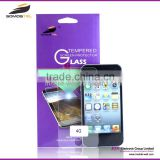 [Somostel] 9H scratch resistant cheapest anti shock screen protector for Iphone 4s tempered glass
