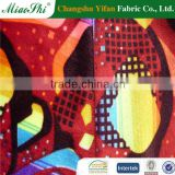 Glitter printed bus fabric for bangladesh market