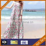 2016 New fashion viscose yarn rayon fabric wholesale woman/girl/kid maxi dress                                                                         Quality Choice