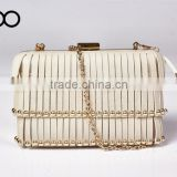 new model ladies tassel pu leather evening bag fancy contracted personality shoulder bag