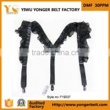 Black Lace Fashion Special Leather Women Suspenders Manufacturer