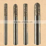 brazed diamond engraving tools | sintered diamond burin for engraving jade | stone | granite etc.