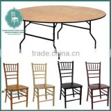 Modern restaurant banquet dining hall tables and chair