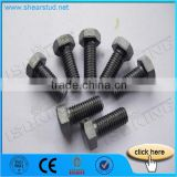 Black Surface Treatment Hex Bolts And Nuts 8.8 Grade                                                                         Quality Choice