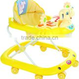 lovely cartoon 8 wheels baby walker/ baby carrier/baby stroller