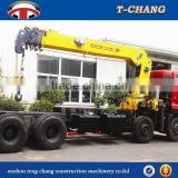 hot sale SQ18SA4 telescopic boom with winch cable mobile crane for sale with ISO9001 certification