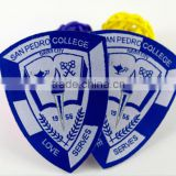 Wholesale OEM customized fashion woven clothes labels, custom military woven patches labels