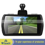 "DVR-X2 Wide View Angle 2.7"" HD 1080P 3.0MP Camera and G-Sensor car rearview mirror camera dvr"