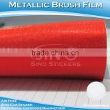 CARLIKE 1.52x20M 5FTx65FT Top Quality Fast Shipment Metal Brush Red Vinyl Car Paint Colors
