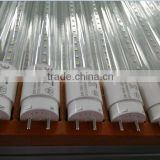 24W clear glass 320 degree transparent material T8 led tube light led energy saver