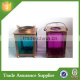 Wholesale decorative glass antique metal tealight candle holders                                                                         Quality Choice