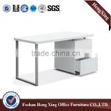 Best selling office desk in used office furniture,computer desk with metal legs (HX-5N170)