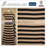 Jiufan Textile Customized Design Stripe Terry Fabric Knitted Competitive Fabric Sold in South African Market