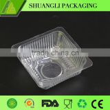 Disposable Plastic cake biscuit box container