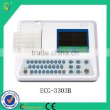 First Aid Dedice Type 12 Leads Cable Auto Light-Weight Fun Alpha Numeric Key Board Price of ECG Machine
