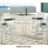 Bar Rattan Table Furniture and Weave Chairs Wholesale Lowest Price from UGO Furniutre Manufacuter