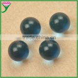 glass beads factory price without hole 12mm round machine cut glass beads