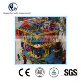 2016 hot sale CE proved children's challenges equipment indoor playground set