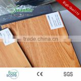 Click Lock Wood Design Luxury Vinyl Tile 8MM Handscraped Surface                                                                         Quality Choice
