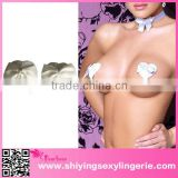 Wholesale White Heart shape Sequine Nipple Covers sexy beauty ladies breast nipple cover