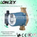 Household Small Hot Water Solar System Pump brass body, circulation pump, pressure pump