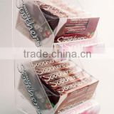 2 tiers clear custom elegant acrylic chocolate display stands,acrylic chocolate display rack