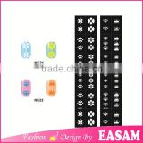 Arrows in mess nail art template cartoon hollow out nail art sticker nail art stencil factory