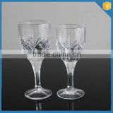 hand pressed long stem crystal clear home goods cheap wine glasses wholesale                                                                         Quality Choice
