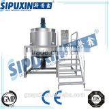 Sipuxin laboratory vacuum emulsifying mixer emulsion mixing tank/high shear homogenizer liquid and cream mixer for cosmetic jam