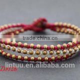 bohemia crystal czech republic jingle bells retro fashion bohemia bracelet wholesale