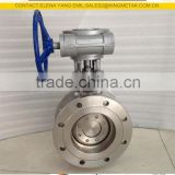 CF8 Metal Seated Butterfly Valve