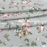 Cotton canvas fabric cotton cloth pastoral fabrics curtain cloth tablecloth fabric wholesale linen rose flowers fabrics