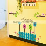 Decorate the sitting room the bedroom wall stickers birds home tree Enclosure bedroom/parlour Background wall sticker AY885