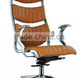 aluminium arm leather luxury high back executive chair office chair specification AB-146A
