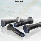 All size and grade High-strength hexagon head bolt for steel structure