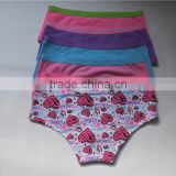 Latest Design Best Selling children thongs underwear factory in china