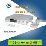 Cable tv hd/sd box mpeg2 mpeg4 decoder box