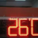innovative good price factory led clock temperature display
