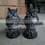 Plastic Blowing Owl,garden ornaments owl
