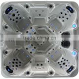 2014 New style freestanding hot sale Massage outdoor SPA Balboa system hot tub low price