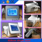 Hot sale 808nm portable diode laser hair removal for Spa / Clinic / Salon beauty machine with German hand piece / factory price