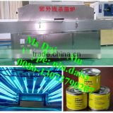 stainless steel ultraviolet light food sterilizer/canned food UV sterilizing machine/UV sterilizer machine for jars