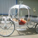 beautiful cinderella wedding carriage on sale made in china