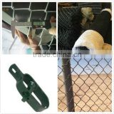 5 foot plastic coated chain link fence Galvanized or PVC Coated / malla de alambre de diamante,valla
