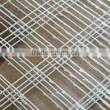 FOR GARDEN HOUSE YARD gabion box stone wall with plant/ corrosion resistance / galvanized metallic coated / welded wire mesh