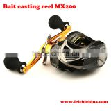 6.3:1 Magnetic drag control fishing bait casting reels