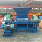 Good quality durable blades shredder machine for crushing waste metal, tire shreddering machine